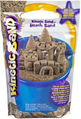 все цены на Кинетический песок Kinetic Sand морской песок 1,4 кг коричневый 71435