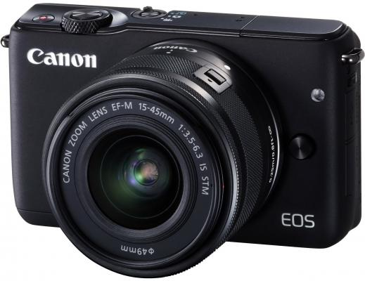Фотоаппарат Canon EOS M10 kit 15-45 IS STM черный