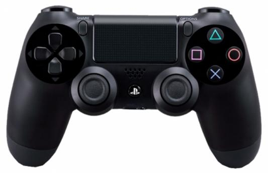Геймпад Sony Dualshock для Sony PlayStation 4 CUH-ZCT2E/R черный игровая приставка sony playstation 4 slim 1tb fifa 18 dualshock 4
