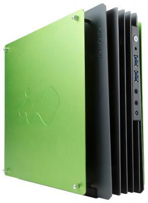 Корпус mini-ITX InWin IW-CA02 180 Вт зелёный