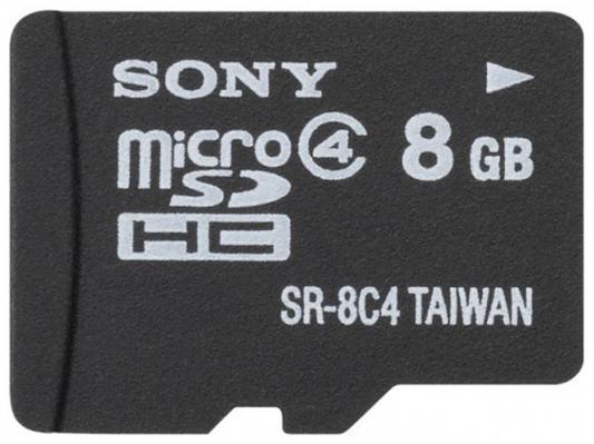 Карта памяти Micro SDHC 8Gb Class 4 Sony SR8A4