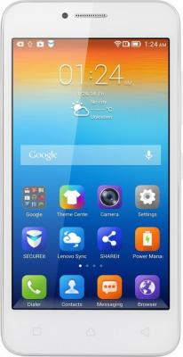 "Смартфон Lenovo VIBE B A2016 белый 4.5"" 8 Гб LTE Wi-Fi GPS 3G"