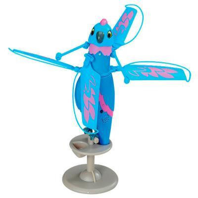 Интерактивная игрушка Zippi Pets летающая птичка от 6 лет синий 8410811002230 841081100223