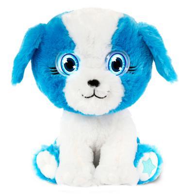 Интерактивная игрушка BrightEyes плюшевый щенок от 1 года голубой