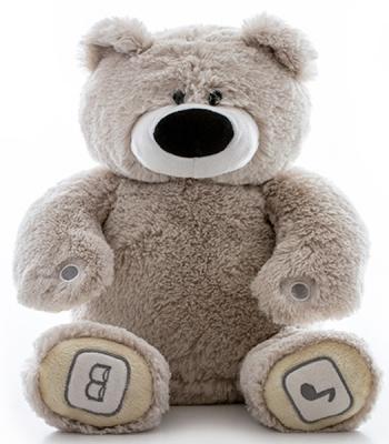 Интерактивная игрушка Luv`n Learn Медведь от 4 лет серый  20010L