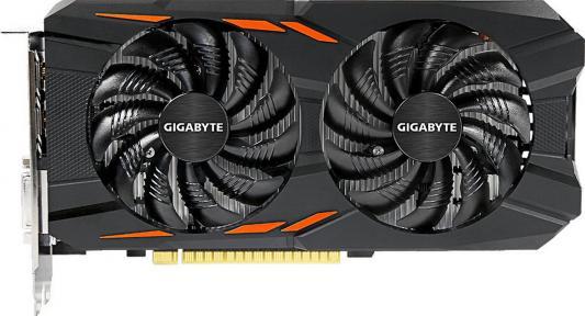 Видеокарта 2048Mb Gigabyte GeForce GTX1050 PCI-E 128bit GDDR5 DVI HDMI DP HDCP GV-N1050WF2OC-2GD Retail yeston geforce gtx 1050 gpu 2gb gddr5 128 bit gaming desktop computer pc video graphics cards support pci e x16 3 0
