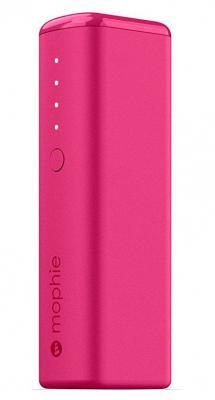 Портативное зарядное устройство Mophie Power Boost mini 2600мАч розовый 3515