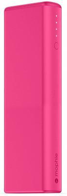 Портативное зарядное устройство Mophie Power Boost 10400мАч розовый 3519