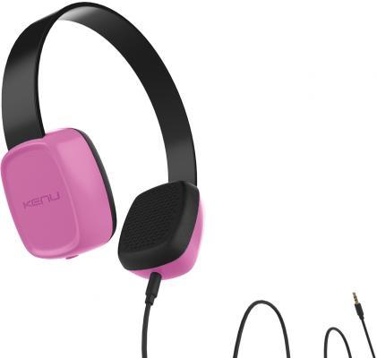 Наушники Kenu Groovies GV1-PK-NA розовый oem 10 144 430 na 636 sma walkie talkie baofeng 5r b6 px 888k uvd1p na 636