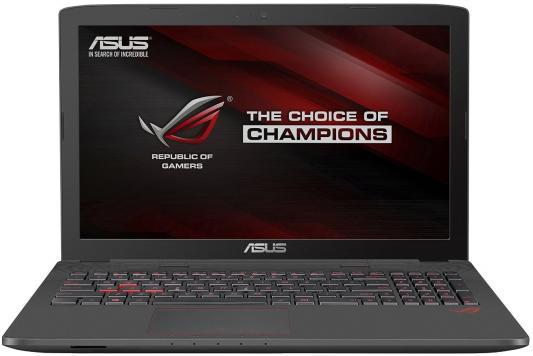 Ноутбук ASUS GL752VW-T4507T 17.3 1920x1080 Intel Core i7-6700HQ 90NB0A42-M07080 ноутбук asus rog gl752vw 90nb0a42 m07080 90nb0a42 m07080