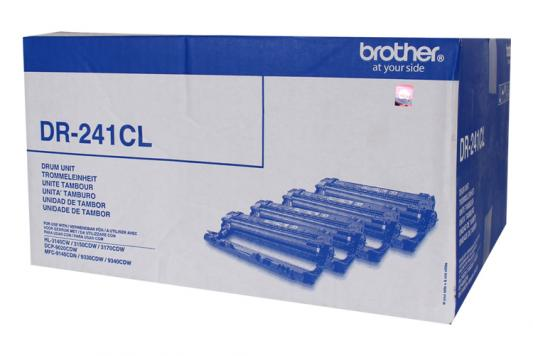 Картридж Brother DR241CL для HL-3140CW 3170CDW DCP-9020CDW MFC-9330CDW 15000стр комплект 4шт brother tn241y yellow тонер картридж для brother hl 3140cw hl 3170cdw dcp 9020cdw mfc 9330cdw