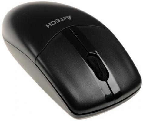 цена на Мышь беспроводная A4TECH G3-220N-1 чёрный USB