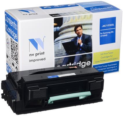 Картридж NV-Print MLT-D305L для Samsung ML-3750 черный 15000стр картридж nv print samsung mlt d111s для xpress m2020 m2020w m2070 m2070w m2070fw 1000k