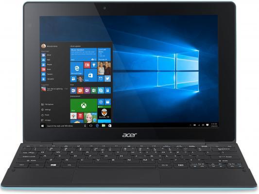 Компьютер планшетный Acer Aspire Switch 10E SW3-016-1635  10.1'' WXGA(1280x800) IPS/Intel Atom x5-Z8300 1.44GHz Quad/4GB/64GB/GMA HD/no3G/WiFi n/BT4.0/microUSB/2.0MP+2.0MP/microSD/HDMI Micro/30.00Wh/8060mAh/12.0h/1.20kg/W10/1Y/BLUE/KB