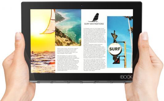 Планшет Lenovo Yoga Book YB1-X91F 10.1 64Gb черный Wi-Fi Bluetooth Windows ZA150049RU ноутбук трансформер lenovo yoga book yb1 x91f