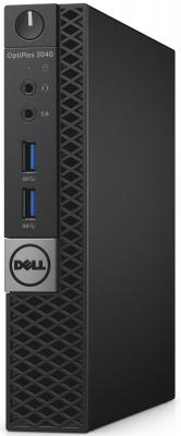 Неттоп DELL OptiPlex 3046 Micro Intel Pentium-G4400T 4Gb 500Gb Intel HD Graphics 510 Linux черный 3046-3478