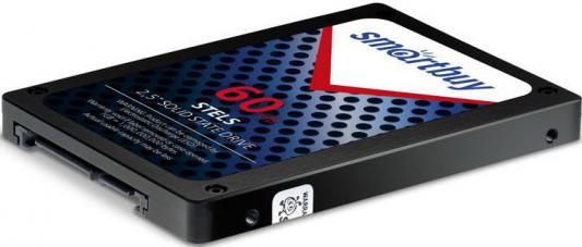 """Твердотельный накопитель SSD 2.5"""" 60GB Smartbuy Stels 525Mb/s Write 200Mb/s SB060GB-STLS-25SAT3"""