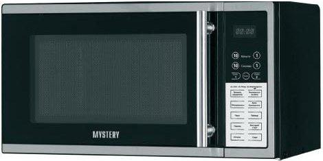 СВЧ MYSTERY MMW-2008G 800 Вт серебристый чёрный 001 mystery brown