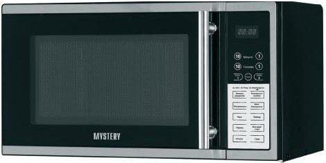 СВЧ MYSTERY MMW-2008G 800 Вт серебристый чёрный