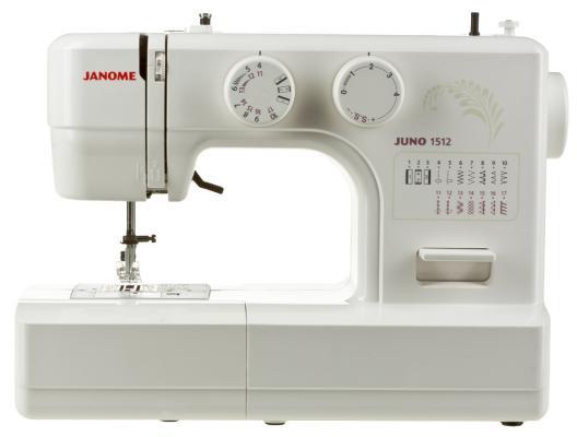 Швейная машина Janome 1512 белый