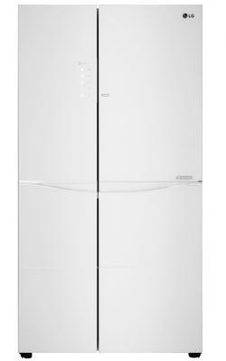 Холодильник LG GC-M257UGAW белый (двухкамерный) lg gc b40bsmqv