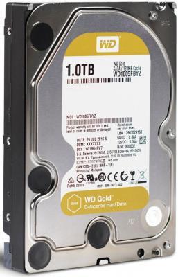 """Жесткий диск 3.5"""" 1Tb 7200rpm 128Mb cache Western Digital Gold SATA WD1005FBYZ"""