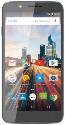 "Смартфон ARCHOS 55 Helium 4G серый 5.5"" 16 Гб LTE Wi-Fi GPS 3G 503254"