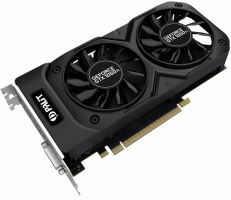 Видеокарта 4096Mb Palit GeForce GTX1050 Ti Dual OC PCI-E 128bit GDDR5 DVI HDMI DP NE5105TS18G1-1071D Retail
