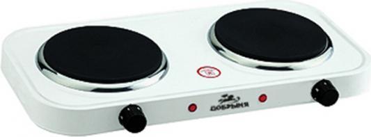 Электроплитка Добрыня DO-2204 белый
