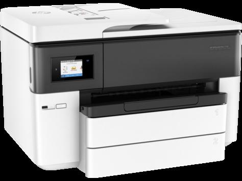 МФУ HP OfficeJet Pro 7740 WF AiO G5J38A цветное A4 22/18ppm 1200x1200dpi Wi-Fi USB белый мфу hp officejet pro 7730 y0s19a