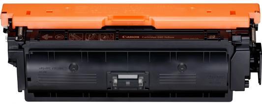 Картридж Canon CRG 040 Y для Canon i-SENSYS LBP710Cx/LBP712Cx желтый 0454C001 принтер canon i sensys colour lbp653cdw лазерный цвет белый [1476c006]