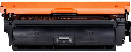 Картридж Canon CRG 040 Y для Canon i-SENSYS LBP710Cx/LBP712Cx желтый 0454C001 картридж canon crg 731 c eur
