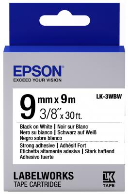 Лента Epson LK-3WBW C53S653007 лента epson lk 4sbm c53s654019
