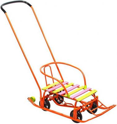 Снегомобиль Kelkka Ракета до 50 кг оранжевый металл пластик 6201