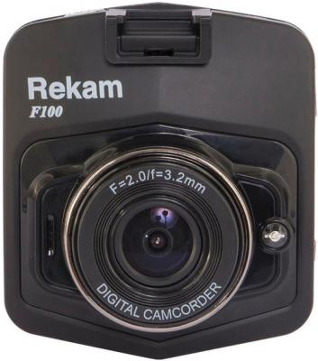 "Видеорегистратор Rekam F100 2.4"" 1280x720 1Mp 120° G-сенсор HDMI microSD microSDXC"