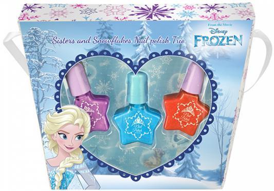Игровой набор детской декоративной косметики Markwins Frozen Эльза 9606451 3 предмета markwins игровой набор детской декоративной косметики эльза холодное сердце