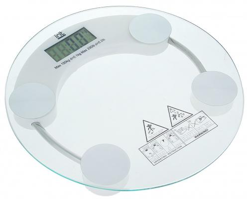 купить Весы напольные Irit IR-7250 прозрачный по цене 420 рублей