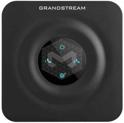 Шлюз VoIP Grandstream HT802 2xFXS 1xLAN 10/100Мб/с SIP БП