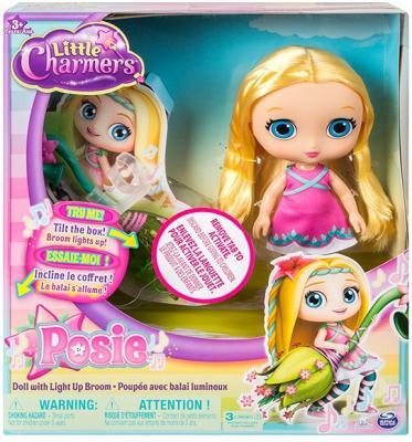 Кукла Little Charmers  20 см с метлой (свет и звук) (в ассорт.)