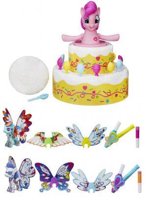 """Игровой набор Hasbro My Little Pony Сюрприз Пинки Пай B2222 + пони с крыльями """"Создай свою пони"""" B3590 7 предметов"""