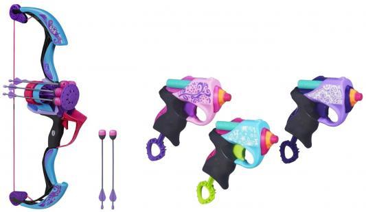 Набор Hasbro N-Rebelle Блочный лук B1696 + мини-бластер A6925
