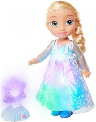 """Кукла Disney Эльза - Северное сияние """"Холодное сердце"""" 35 см светящаяся со звуком"""