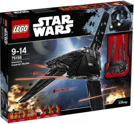 Конструктор Lego Star Wars: Имперский шаттл Кренника 863 элемента