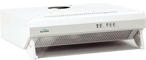 Вытяжка подвесная Elikor Призма 60П-290-К3Л белый