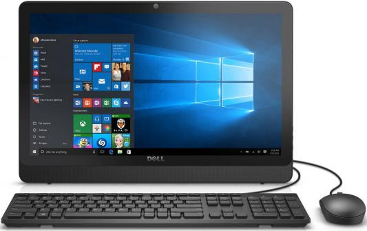"Моноблок 21.5"" DELL Inspiron 3264 1920 x 1080 Intel Core i3-7100U 4Gb 1Tb Intel HD Graphics 620 Windows 10 Home черный 3264-9890"