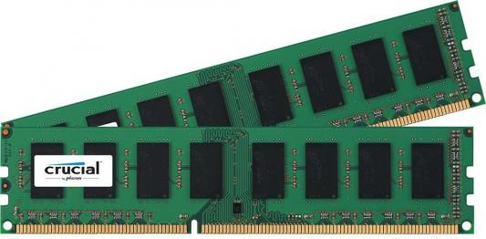 Оперативная память 8Gb (2x4Gb) PC3-12800 1600MHz DDR3 DIMM Crucial CT2K51264BD160B