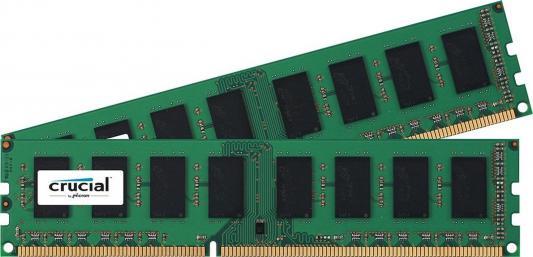 Оперативная память 16Gb (2x8Gb) PC4-19200 2400MHz DDR4 DIMM Crucial CT2K8G4DFS824A