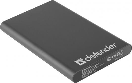 Портативное зарядное устройство Defender Lavita 5000PL 5V/1A USB 5000 mAh черный 83631