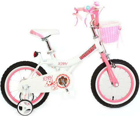 "Велосипед Royal baby Princess Jenny Girl Bike 14"" розовый"