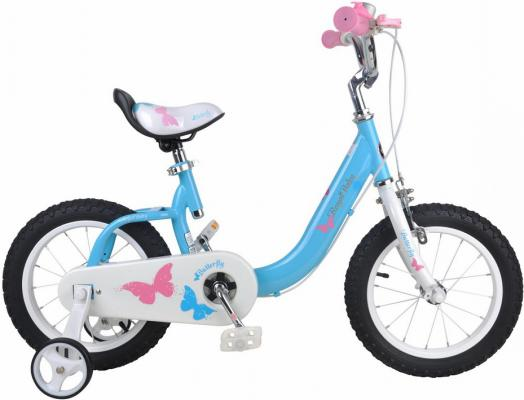 "Велосипед Royal baby Butterfly 18"" синий"